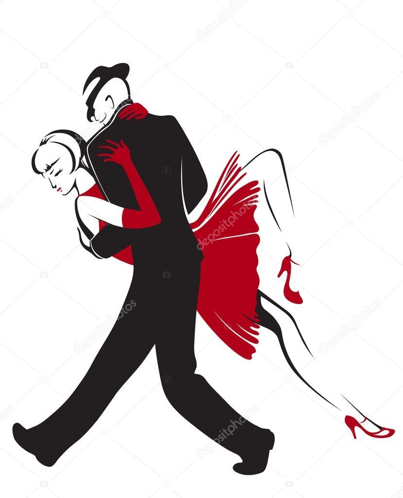 Pareja de baile vetor 121420